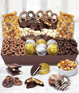 Belgian Chocolate Covered Snack Box For A Birthday Gift