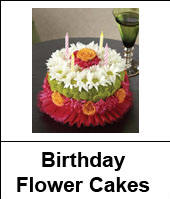 Birthday Flower Cakes Next Day Delivery