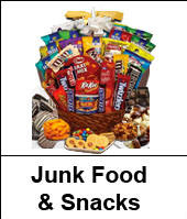 Alabama Birthday Junk Food and Chocolate Snacks and Chips Gift Baskets