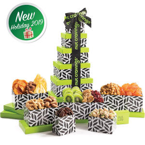 Amazon Fruit and Nut Gift Tower 45.95